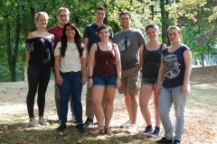 Group 2018 (ltr): Luisa, Tino, Juliana, Kevin , Corina, CM, Nora, Karoline